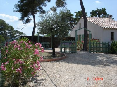 Photo for GITE 3 ROOMS of 35 M2 and GROUND For 2/4 people