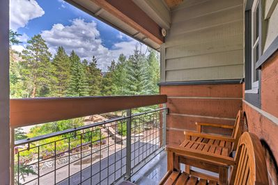The condo sleeps 6 guests and is located in the River Run Village.