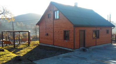 Cottage Ozerniy - near a small lake in the heart of the Carpathian mountains!
