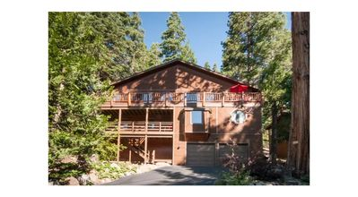 Photo for 5 Bedroom Mountain Retreat - Forest Location yet close to Beach, Skiing & Town
