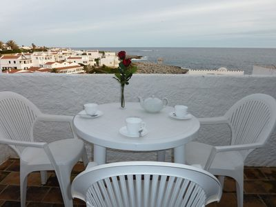 Photo for Fantastic Apartment with Wi-Fi, Terrace and Sea View; Parking available