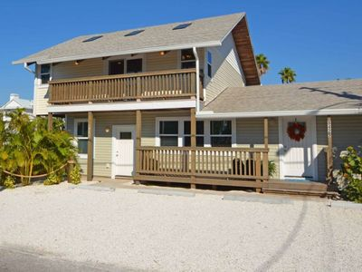 Photo for BEST OF THE BEACH_luxurious house just steps from the sand_ALL the amenities!!!