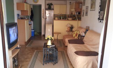 Photo for Apartment Le Dramont (83) near St Raphaël 100 m from the sea for 4 people