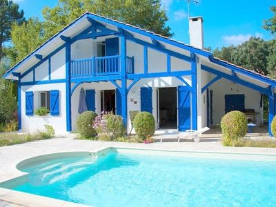 Photo for Villa 4 **** with heated pool and Wifi - 8 people - SEIGNOSSE