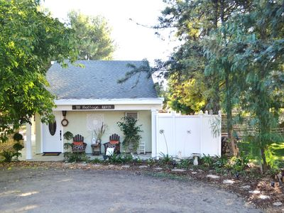 Photo for The Cottage Haven - Nestled In The Heart Of Wine Country And Horse Country