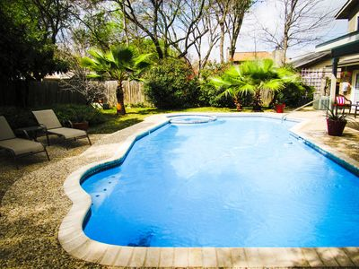Photo for Hot tub, pool, & downstairs master! Minutes from San Antonio Attractions!