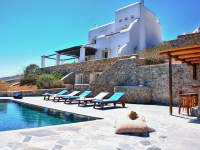 Photo for 5***** Rated Traditional Villa W Infinite Sea View / Beach Walking Distance