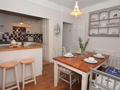 Kitchen/diner with access to the garden