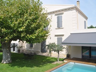 Photo for Avignon house 5 minutes walk from the busy city center and already in the countryside