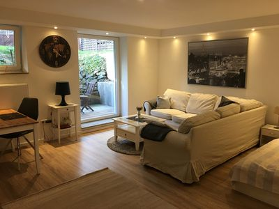 Photo for Super nice apartment for two persons ideal for trade fair, holidays and long-term