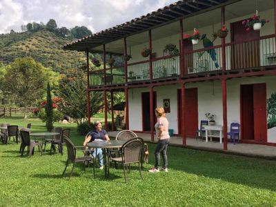 Photo for Spacious 2-story historical home with 6 bedrooms overlooking the coffee crops