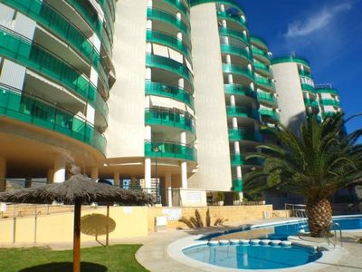 Photo for Apartment in Cala Finestrat Benidorm with Pool & Tennis Courts