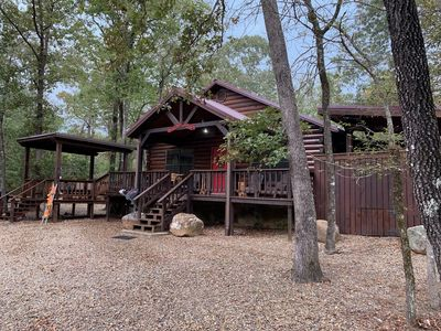 Photo for Secluded Cabin Rental in Beavers Bend, Oklahoma near Broken Bow Lake