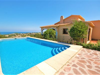 Photo for Saona Villas: Costa Blanca, Denia, villa for 10 with private pool and sea view