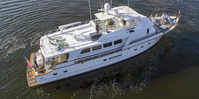 Photo for 84 FOOT CUSTOM TRADITIONAL YACHT WITH 3 BEDROOMS AND 3 BATHROOMS