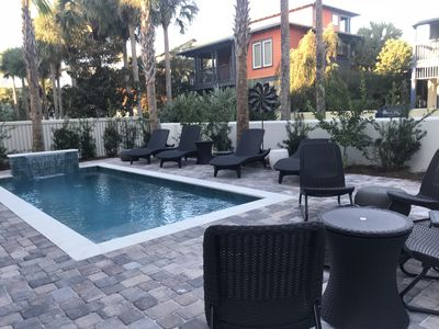 Photo for Custom built beauty!Private pool, gated community, private beach, 5* reviews!