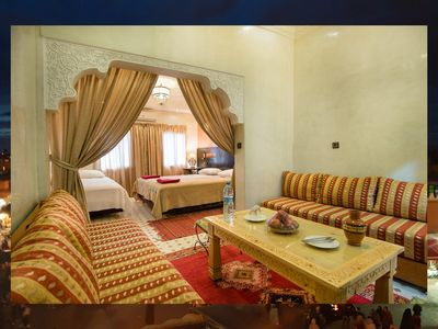 Photo for Traditional Marrakchi Riad & Restaurant with Free Breakfast & Medina View