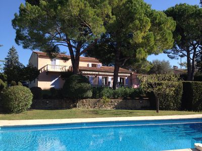 Photo for Superb property in the middle of a beautiful garden with large pool