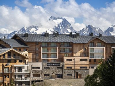 Photo for Very comfortable residence with Spa on the slopes in Alpe d'Huez