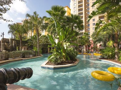 Photo for 2 Bedroom Resort Condo in Disney w/ Pools, Lazy Rivers