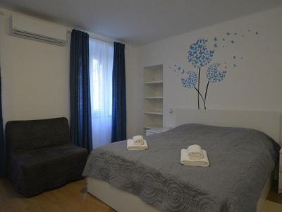 Photo for Studio flat with air-conditioning Cres