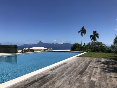 Studio unobstructed view of Moorea