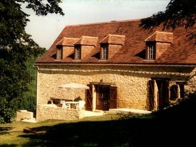 Photo for Large 4 bedroom farmhouse with heated pool in the heart of the Dordogne, France