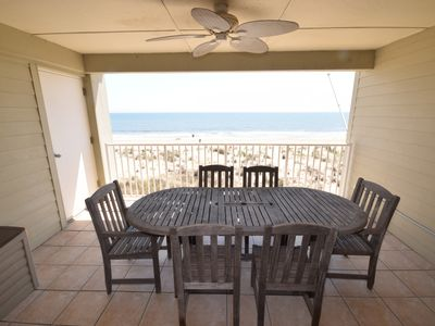 Photo for Summer and Fall availability* 3 BEDROOMS- DIRECT OCEANFRONT with 12x15 deck
