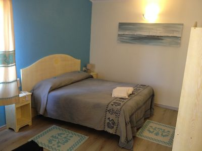 Photo for Two-room air-conditioned 85 meters from the beach between Cagliari and Villasimus