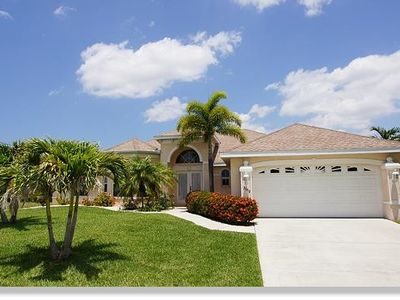 Photo for Exclusive Villa Moon River with pool, whirlpool, Boatsdock in Cape Coral, Florida