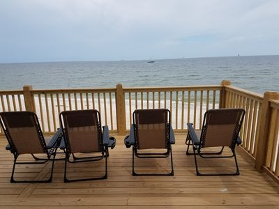 Views all day. From 3 masters, living, 2 covered porches, and open sun porch!!