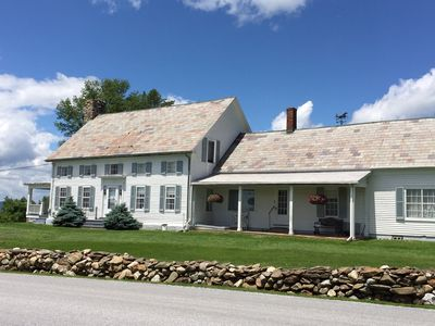 Photo for Farmhouse with gracious grounds/Killington sking/campus weekends, (Midd/Castle)