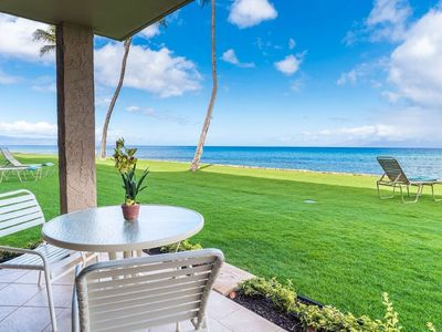 "Photo for Just Steps Away from the Blue Pacific Ocean! ""Directly Oceanfront"""