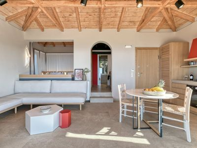 Photo for Luxury Suite With Private Pool and enchanting Views of the endless blue Ionian Sea