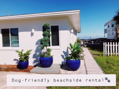 Photo for DOG FRIENDLY (one side) completely renovated OCEANSIDE duplex!