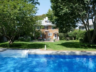 Photo for Charming Southampton Village Rental walking distance to both shops and beach