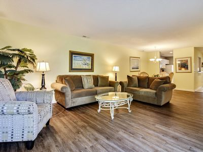 Photo for 3 bedroom, 3.5 bathroom,unit offering a short Walk or ride to beach!
