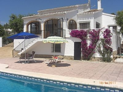 Photo for Villa With Private Pool And WiFi, Javea, Costa Blanca