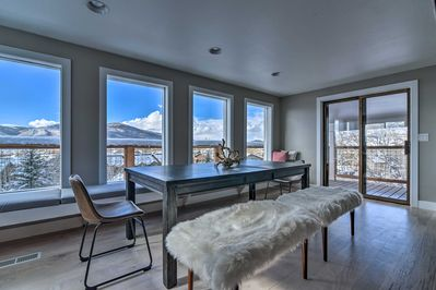 Enjoy panoramic mountain views from this Steamboat Springs getaway!