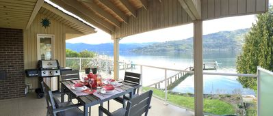 Photo for Okanagan Lakefront with Private Beach & Dock