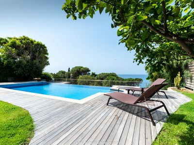 Photo for Villa with Private Pool, Garden and Sea Views