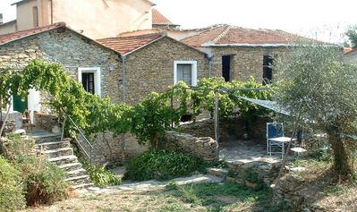 Photo for A Charming Old Ligurian Farmhouse In The Hills Only 20 Minutes From The Sea