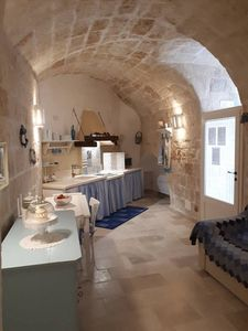Photo for Comfortable apartment near the sea and in the center of Monopoli, Puglia