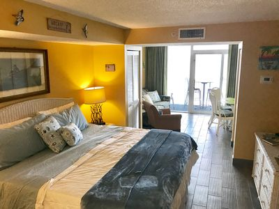 Photo for *ISLAND TIME Honeymoon Suite; Direct Oceanfront Balcony wTile King Luxury Bed*