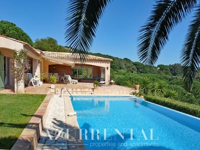 Photo for Provencal property near the beaches of La Nartelle with stunning sea view