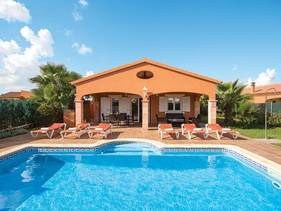 Photo for Spacious Villa w/ pool, free Wi-Fi & a/c, lounge opens to large terrace