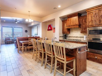 Photo for Amazing Views, Free Wi-Fi, 2heated pools, hot tub, BBQ on private back Patio!