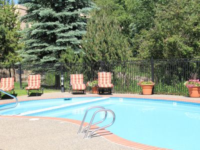 Photo for Cozy 2BR/2BA w/ POOL & Hot Tub for some summer fun!