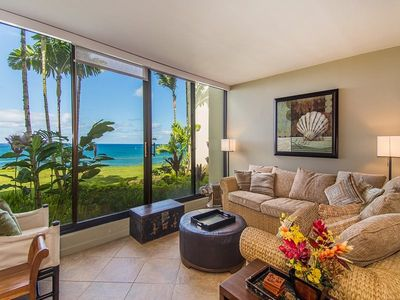 Photo for Puu Poa 105: Oceanfront Condo Discounted Until September 15, 2019