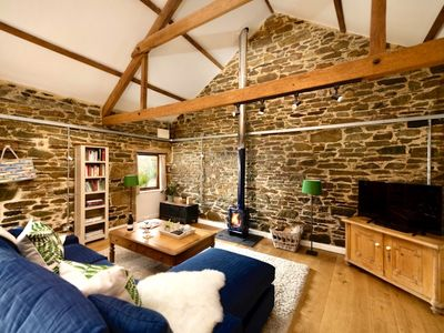 Photo for Boutique barn for couples near Port Isaac
